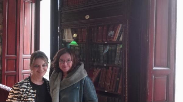 Rosa Algarrada (Lyskam) y Nuria Garrido (UCLM)