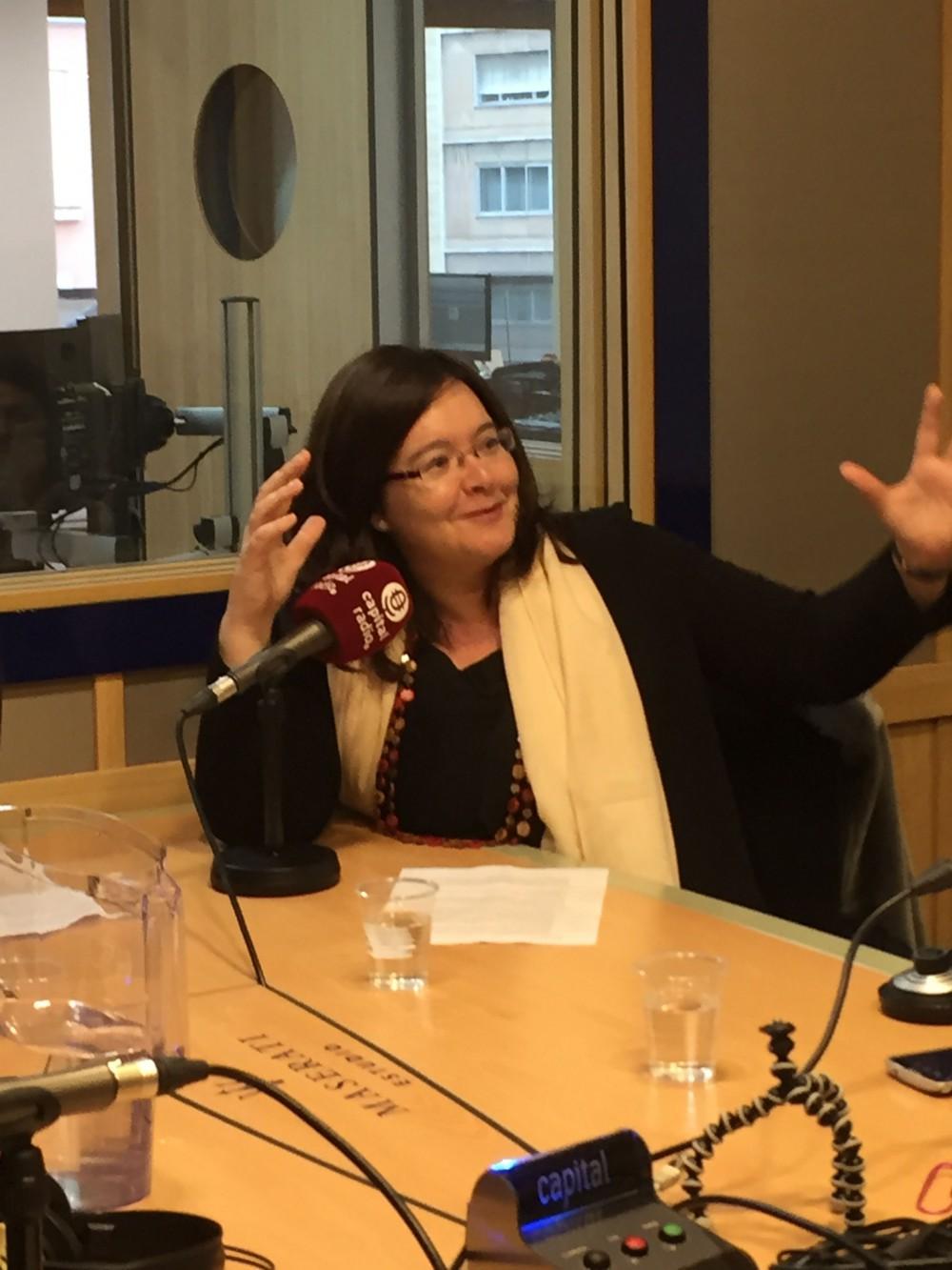 Rosa de Algarrada en la radio