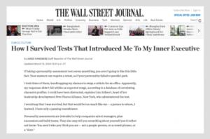 Nuestros líderes en The Wall Street Journal