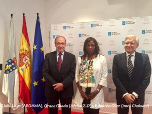 Negocios en África: Julio Lage, Grace Obado y Eduardo Olier