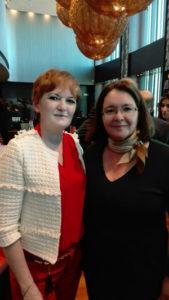 Isabel Noriega y Rosa Algarrada, de Lyskam EA