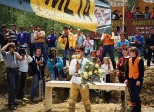 Lyskam EA: Toñejo Rodríguez en 1990, 13 días antes de romperse la espalda ganando el Campeonato de España de Quads