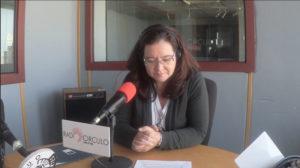 rosa algarrada de Lyskam EA entrevista de radio