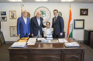 Lyskam EA: Toñejo Rodríguez, llave de Oro de la ciudad de Miami