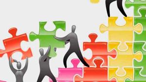 Las personas que persiguen un objetivo común fomentan la colaboración